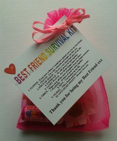 Details About BEST FRIEND Survival Kit Birthday Christmas Buy 3 Get 1 FREE See