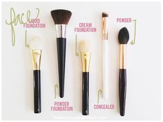Our Favorite New Face Brushes!