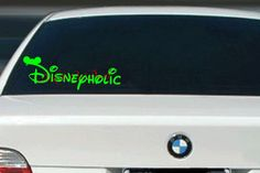 Check out this item in my Etsy shop https://www.etsy.com/listing/266083799/disneyholic-vinyl-wallcar-decal-e00196