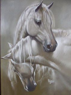Pinturas que me gustan: ronroneos de caballos                                                                                                                                                      Más