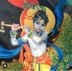 Lord Krishna, Shiva, Lord Hanuman Wallpapers, Hindu Deities, Gods And Goddesses, Princess Zelda, Painting, Fictional Characters, Art