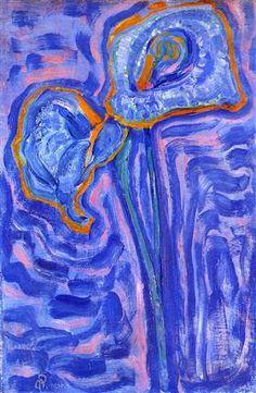 Sun, Piet Mondrian