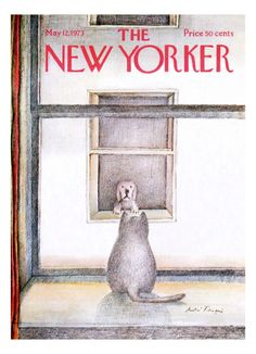 The New Yorker Cover - May 12, 1973 Premium Giclee Print by Andre Francois at Art.com