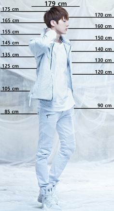 Jin height chart BTS