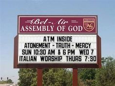 World's Best Church Signs! - Beliefnet.com