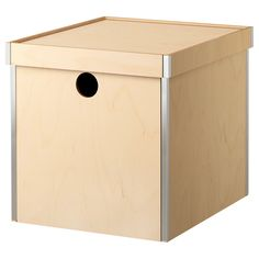 $12.99 other sizes too   PRÄNT Box with lid - IKEA