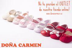 ¿Conocéis ya el OUTLET de nuestra tienda online? En él podréis encontrar muy buenas oportunidades, ¡no dejéis de visitarlo!   www.donacarmen.es