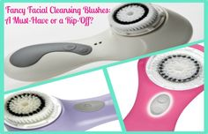 Fancy Facial Cleansing Blushes: A Must-Have or a Rip-Off? If you've checked out any beauty or fashion magazine or website recently, then you've noticed all the buzz on these new fancy facial cleansing brushes. Clarisonic and Clinique have come out with purifying brushes to keep away acne and reveal glowing skin. At around $100 per brush, some may be s...  Read More at http://www.chelseacrockett.com/wp/beauty/fancy-facial-cleansing-blushes-a-must-have-or-a-rip-off/.