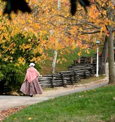 """Kinda silly, but when I finally decide to """"retire"""" I think I'm going to try working at an historic site as a reenactor... True story"""