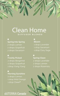 Feeling reminiscent of springtime? Us too. That's why we created these diffuser blends to freshen up your home. Best Essential Oil Diffuser, Best Essential Oils, Essential Oil Uses, Essential Oil Combinations, Doterra Essential Oils, Doterra Blends, Be Natural, Aromatherapy Oils, Living Oils