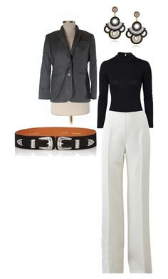 Seventh by rubi-mariya on Polyvore featuring мода, TFNC, Brooks Brothers, Michael Kors and Maison Boinet