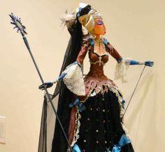 Gorgeous rod puppet