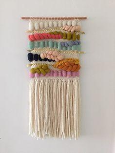 Handamde Woven Tapestry by SunWoven on Etsy