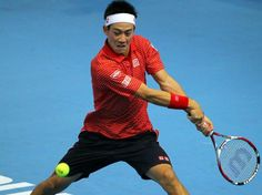 Kei Nishikori and Enrests Gulbis book their spots in the semifinals of Kuala Lumpur