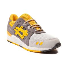 Add a splash of color to your kicks with the new Gel Lyte III from Asics! The Gel Lyte III boasts a retro silhouette with fresh color combinations, mesh and suede upper with lace-up front closure, padded tongue and collar, EVA midsole for superior comfort, and flexible rubber outsole for durability and traction. Available for shipment in March; pre-order yours today!