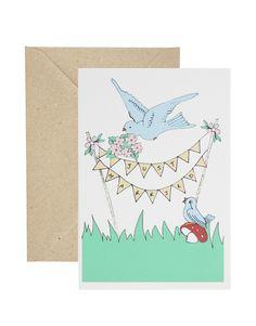 invitations/thank you's - Rosie Wonders Handmade Just Married Card