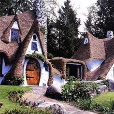 Storybook House, built in the 1980s by Richey & Karen Morgan as a homage to classic fairy tales.
