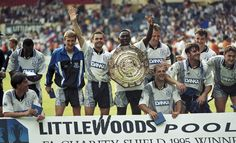 Everton overcame Blackburn at Wembley in 1995, this was 18 years ago and was the last time that either Liverpool, Chelsea , Arsenal or Manchester United was not involved in the final www.betfred.com/football Fa Community Shield, The Last Time, Everton, Manchester United, Arsenal, Liverpool, Chelsea, The Unit, Football