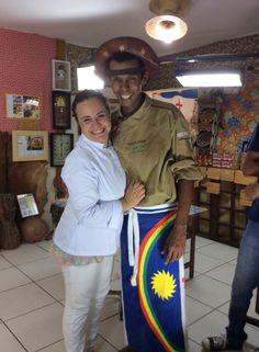 Eu e o amigo Rivandro França