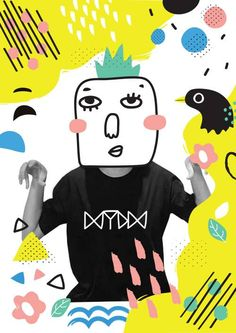 Welcome, Yaya, our new designer at MYDM house :)