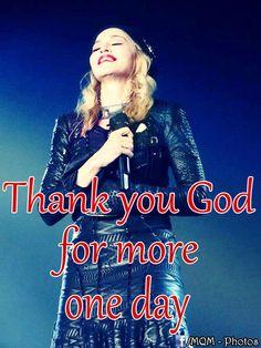 Obrigado Deus por mais um dia! Madonna Quotes, Thank You God, Movie Posters, Movies, Frases, Films, Film Poster, Cinema, Movie