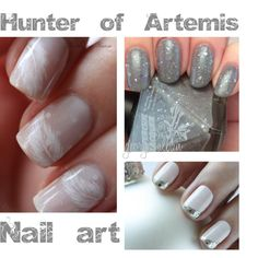 Hunter of Artemis - Nail art by george-alban on Polyvore