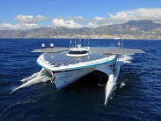 Solar Planet Turanor, o maior barco solar do mundo
