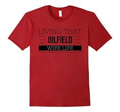 Mens Oilfield Family T-shirts Store 2XL Cranberry