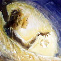 Engel des Herzens, Erzengel Gabriel (a).Berührung mit deiner innersten und allumfassenden Liebe. Herzöffnung und Impulse für Vergebung, frieden und liebevolle Gefühle. Mitgefühl, Harmonie und Güte