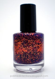 Polish Intentions  Embers Nail Polish  #nails #nailpolish #indie #polish #manicure #lacquer #trends #beauty  #handmade #glitter