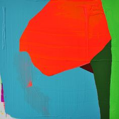 Paul Behnke, acrylic on canvas - He has a blog on contemporary art. Structure and Imagery: Backstory on Tilted Arc