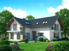 Pavla 9 | Ekonomické stavby Pavlova, Home Fashion, House Plans, House Design, How To Plan, Mansions, House Styles, Tuna, House Ideas