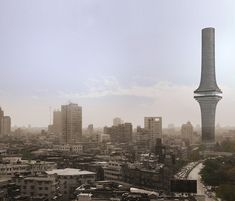 India Tower. Image Courtesy of OMA Now this is design courage!