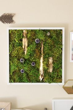"""Items similar to Moss Wall Art ~ Moss Art Work ~ REAL Preserved Moss ~ No Maintenance Required ~ ~ """"Woodland"""" on Etsy Moss Wall Art, Moss Art, Preserves, Woodland, Art Work, Living Room, Beijing, Vintage, Etsy"""