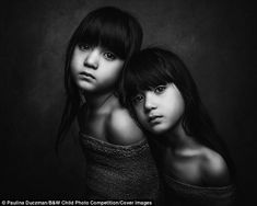 British photographer Paulina Duczman has been announced as the winner of the 2017 international B&W Child Photo Competition, with her portrait of a freckled girl. Sibling Photography, Portrait Photography Poses, Portrait Poses, Photography Awards, Children Photography, White Photography, Photography Contests, Inspiring Photography, Photography Editing