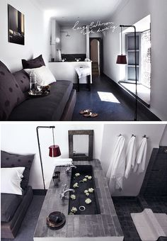 lounge bathroom - dar kawa by the style files, via Flickr