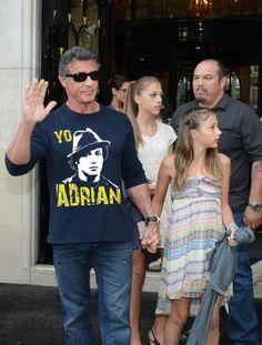 Cool shirt Rocky !