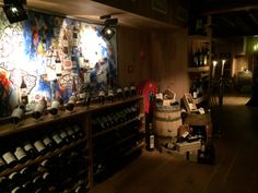 Wine cellar art Restaurant Vandemarkt… a place to have a private dinner, wine tasting weesperzijde