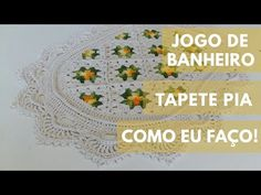Make It Yourself, Blog, Bathroom, Youtube, Bathroom Mat, Mosaic Bathroom, Crochet Kitchen, Crochet Tutorials, Crochet Flower Patterns