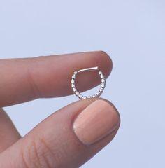 Titanio Bar-ferido Cristal Piercing Para Ombligo-Elija El Color 6mm 8mm 10mm 12mm 14mm