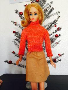 Barbie - Love the aluminum tree!