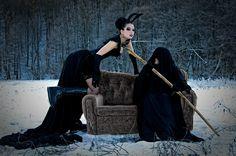 me, alternative model, death, winter, love, black, snow, slovakia