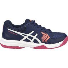 4fab01fe22 Asics Gel Dedicate 5 - Womens Netball Shoes - Indigo Blue White Diva Pink -  Fitness Mania