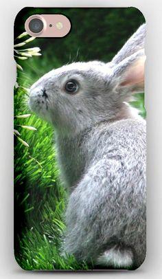 iPhone 7 Case Rabbit, Hare, Grass, Climb