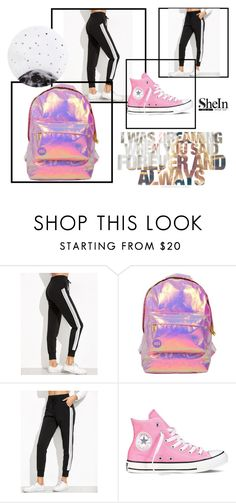 """""""Untitled #64"""" by amalija-1 ❤ liked on Polyvore featuring Miss Selfridge, Converse and Lollipop"""