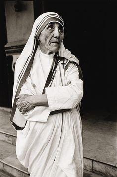 Mother Teresa, Calcutta, 1980