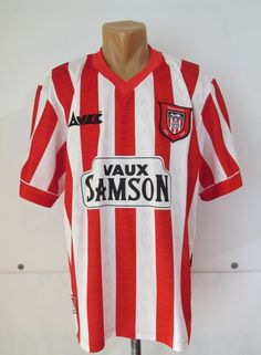 741577455 Sunderland 1996 1997 home football shirt by Avec vintage England Rocker  Park retro soccer