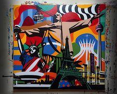 Awesome Pop Art by Lobo