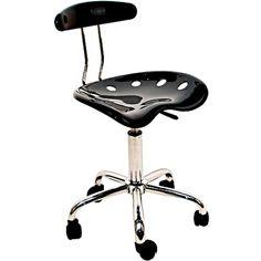 Bar Stool Tractor Seat Pneumatic Swivel Task Counter Adjust Chair Rolling Modern