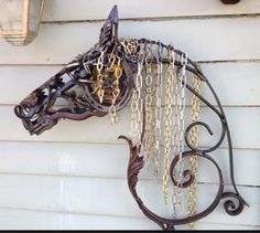 sold by Damselfly Gallery in Midway, KY Metal Sculpture Artists, Steel Sculpture, Horse Sculpture, Sculptures, Metal Yard Art, Scrap Metal Art, Metal Projects, Metal Crafts, Art Projects